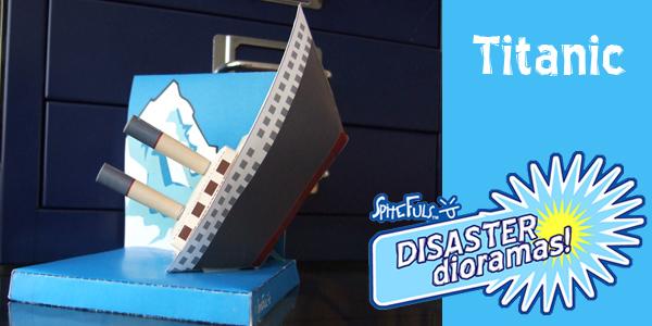 Titanic i papper